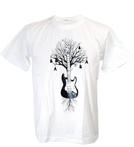 Men's Guitar Tree Banksy T-Shirt