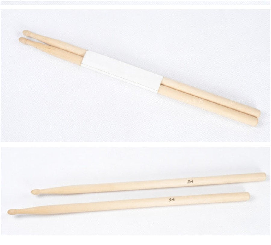 One Pair of Professional Drumsticks 5A and 7A