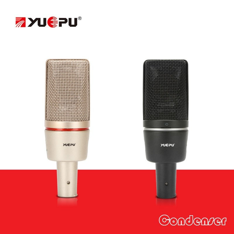 YUEPU C7000 Studio Condenser Microphone with Phantom Power