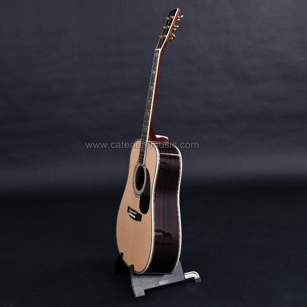 Handmade Solid Wood Acoustic Guitar - Sunfield Music