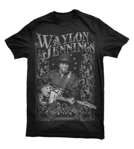Waylon Jennings T-Shirt - Sunfield Music