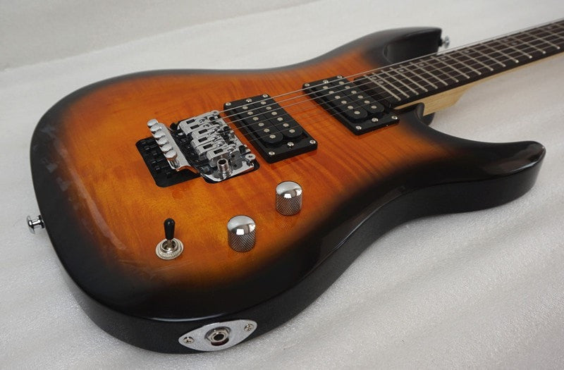 Sunburst PSR Linden Wood Electric Guitar - Sunfield Music
