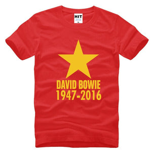 David Bowie R.I.P. Blackstar Ziggy Tribute T-Shirt