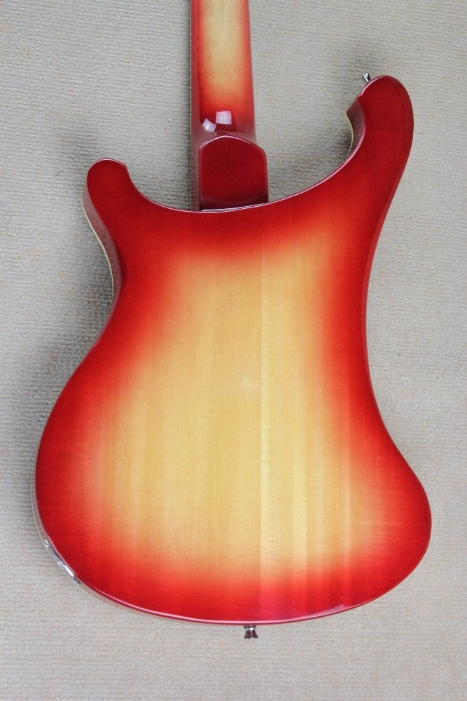 4 String Ricky 4003 fireglo electric bass