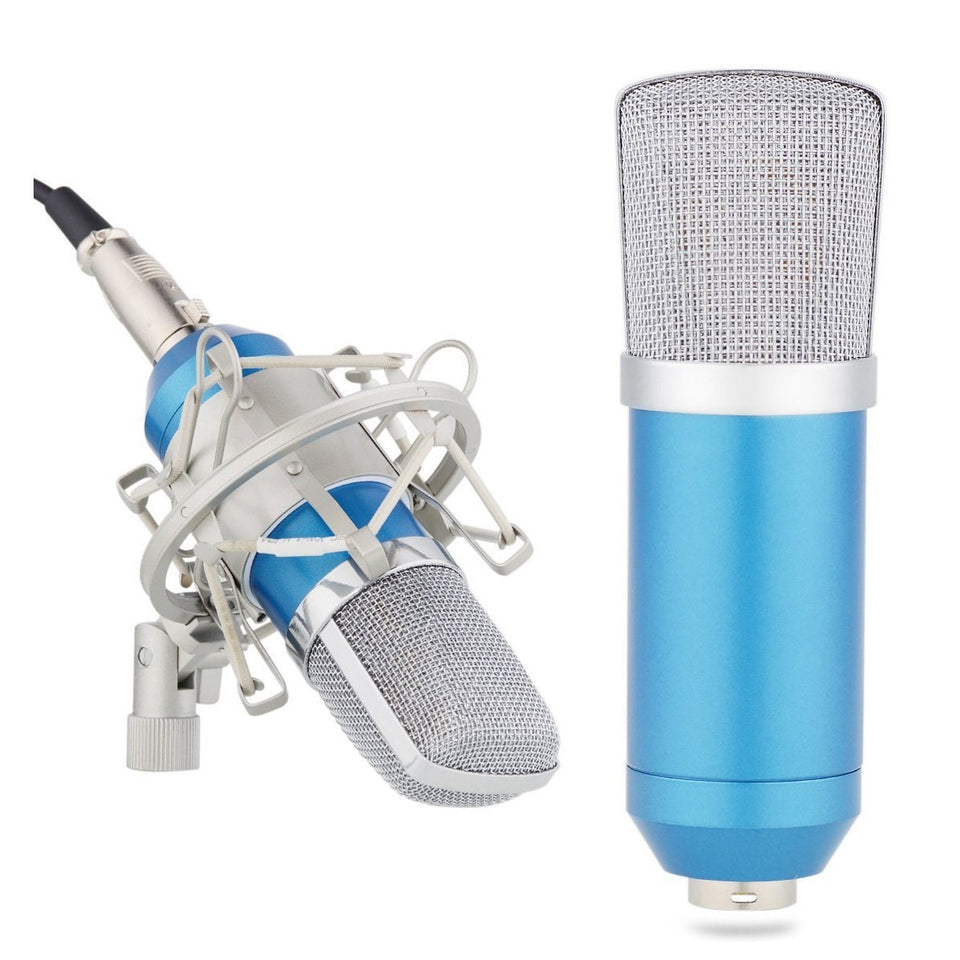 SO-7500 Studio Recording Condenser Microphone with Shock Mount - Sunfield Music