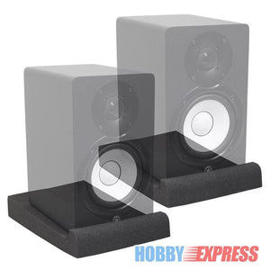 4 Pcs Bundle XL Studio Monitors Speaker Isolation Pad - Sunfield Music
