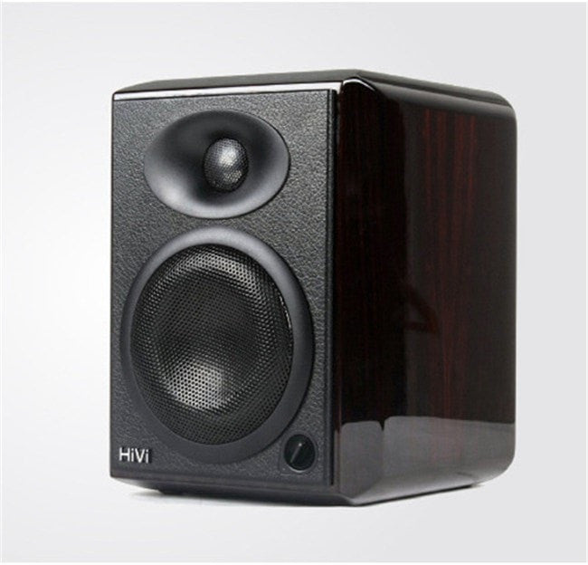 "HiVi H4 4"" 2-Way Active Powered Professional Studio Monitors - Sunfield Music"