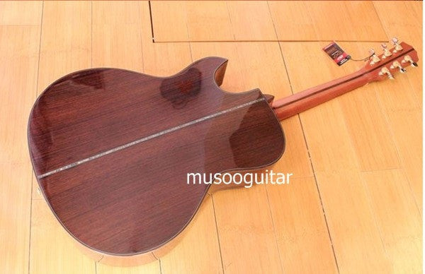 "40"" Acoustic Guitar with ebony fingerboard - Sunfield Music"