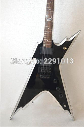 Black Razorback 255 Dimeslime Electric Guitar
