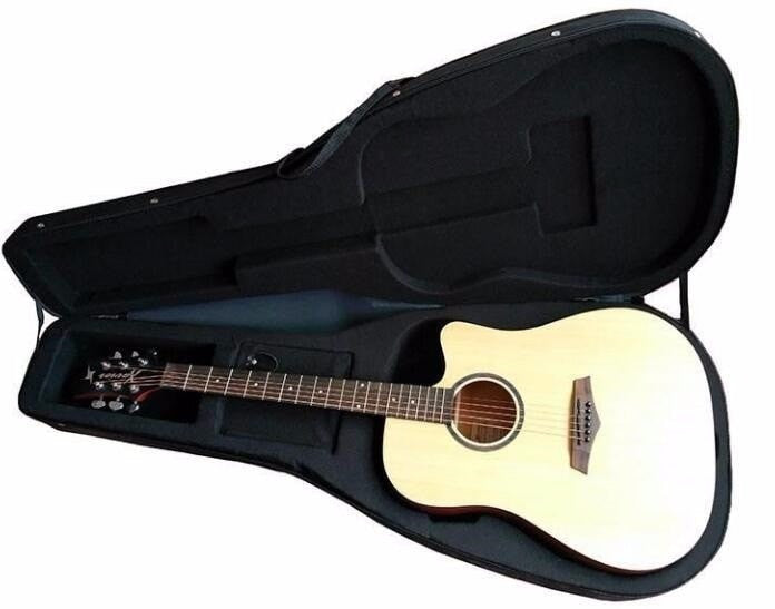Round Back Ovation Electric Acoustic Guitars with Free Hardcase
