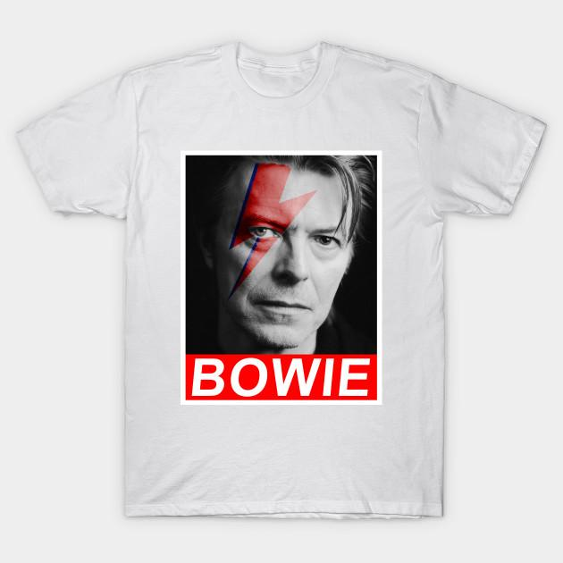 16 David Bowie T-Shirts