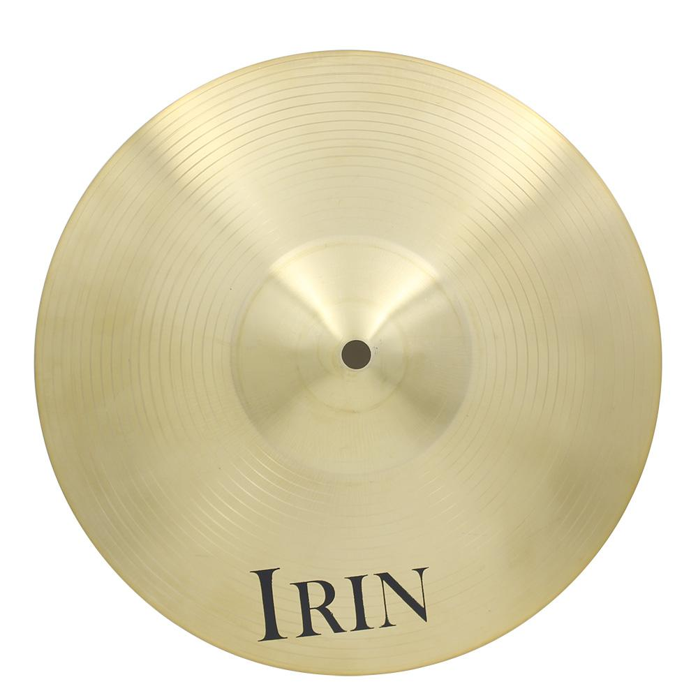 "IRIN 12"" Brass Alloy Crash Ride Hi-Hat Cymbal for Drum Set"