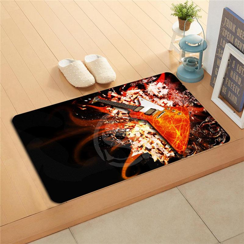Color Burst Guitar Doormats