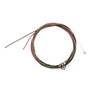 6Pcs Colorful Guitar Strings Set for Acoustic Guitar