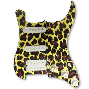 Leopard Loaded Pickguard