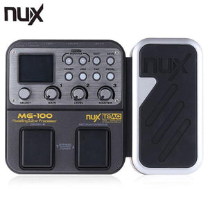 NUX MG-100 Multi-function Effect Pedal with 58 Effects
