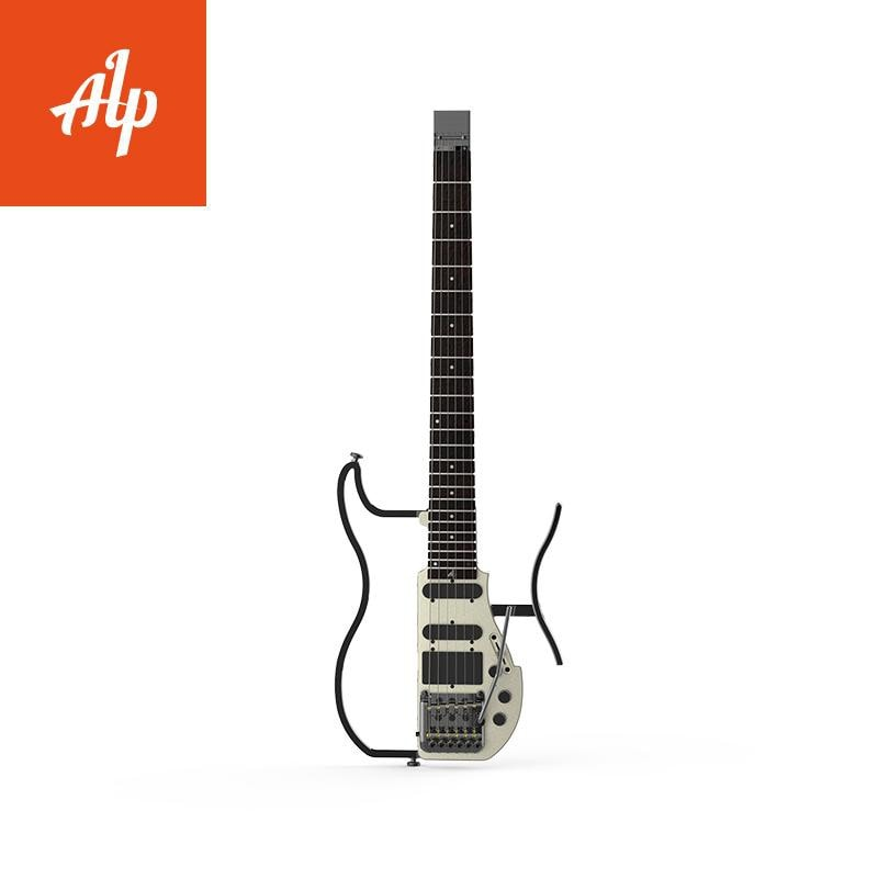 ALP Headless Travel Electric Guitar Special AD120 tremolo travel guitar portable guitar