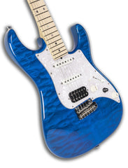 JT Studio Elite HD Trans Blue Electric Guitar