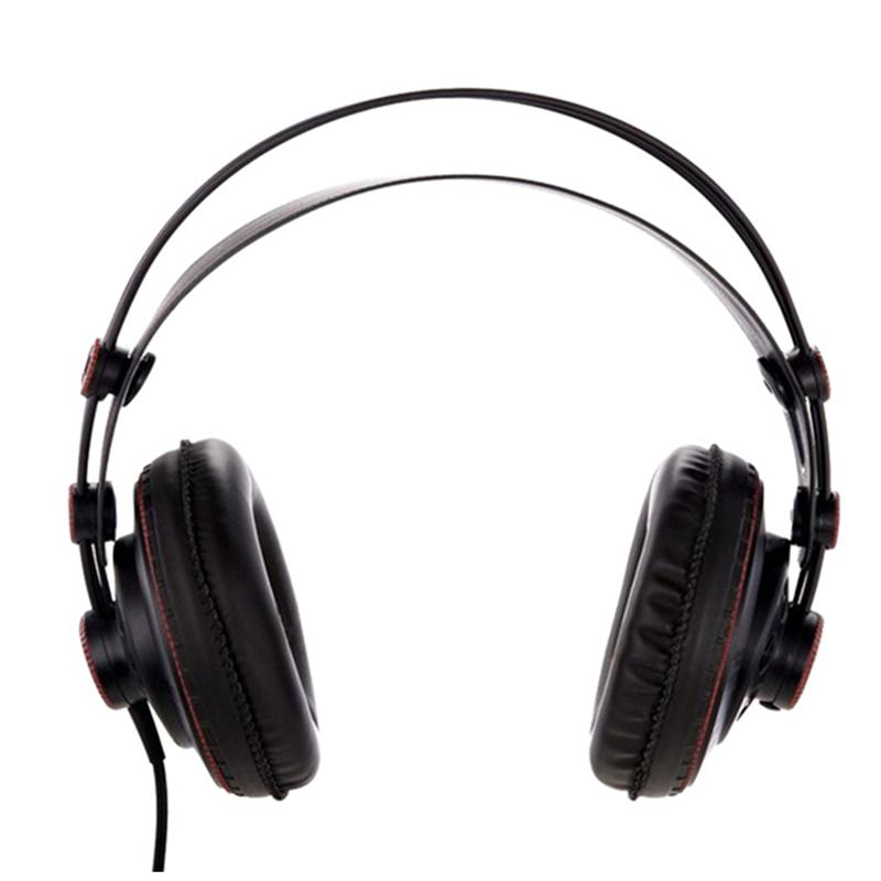 Original Superlux HD681B Professional Studio Headphones Semi-open Dynamic Stereo Monitors