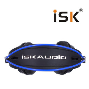 Genuine ISK HP-680 Headphones DJ Studio Monitors