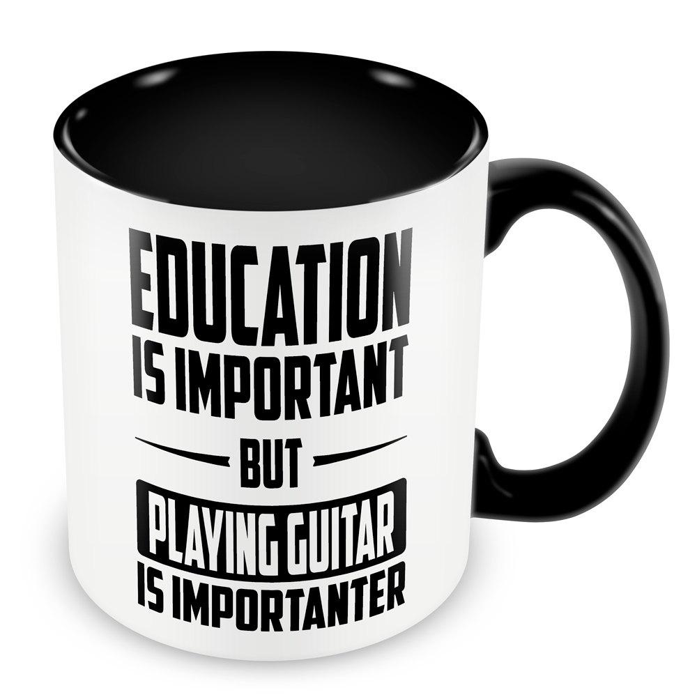 Playing Guitar is Importanter Mug