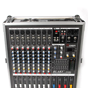 "Professional ""For the Road"" 8 Channel Audio Mixer"