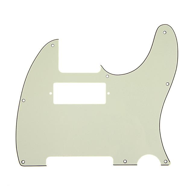 3Ply Guitar Pickguard For TL Tele style With Humbucker Cut Out
