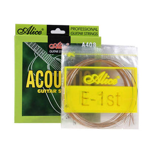 "Alice Acoustic Folk Guitar Strings 011 012 Fits 36""-42"""
