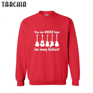 You Can Never Have Too Many Guitars Sweater