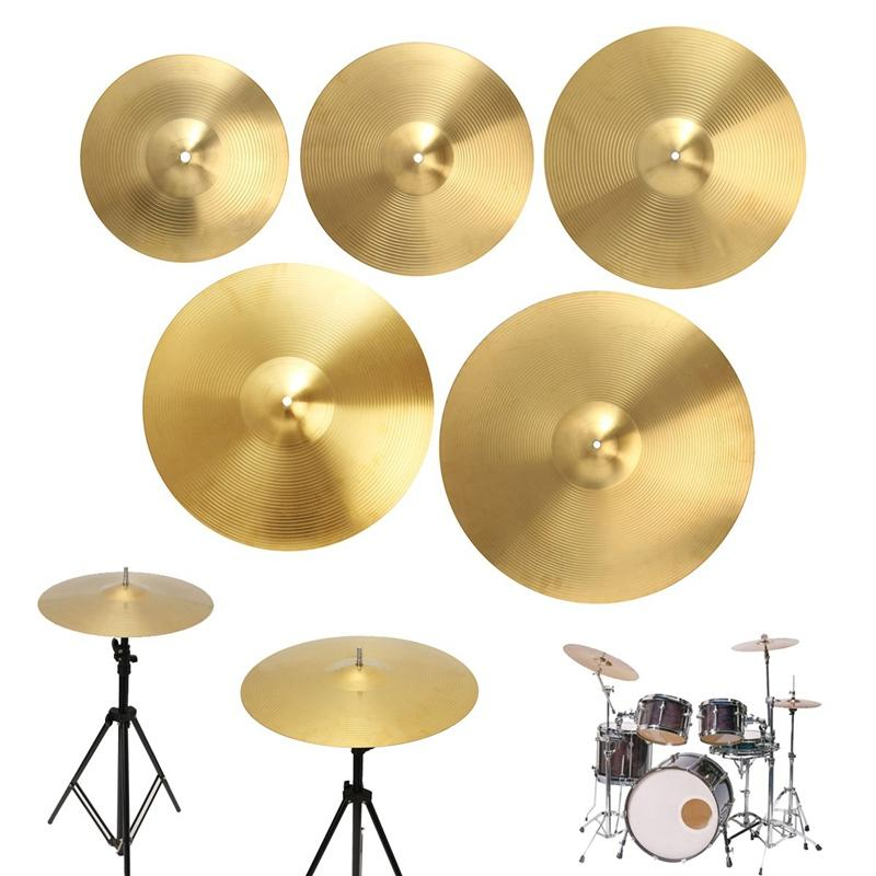 1pcs Cymbals Set Sizes 12/14/16/18/20 Inch Splash/Ride/Crash/Highhat For Drum Set