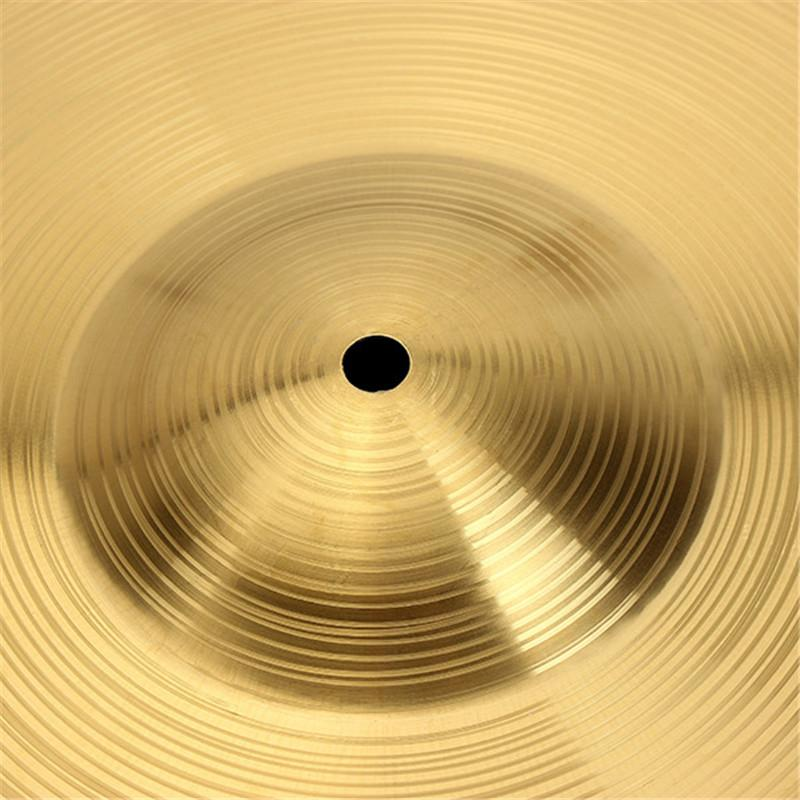 Zebra 1pcs 8/10/12/14/16/18/ or 20 Inch Drums Parts Drum Kit Brass Cymbals