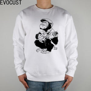 Monkey Guitar Man Sweatshirt