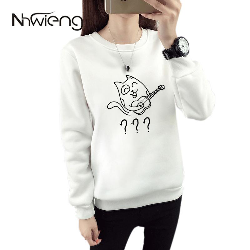 Women's Totoro Guitar Sweatshirt