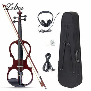 4/4 Electric Fiddle Acoustic Violin Rosin Set for Beginners