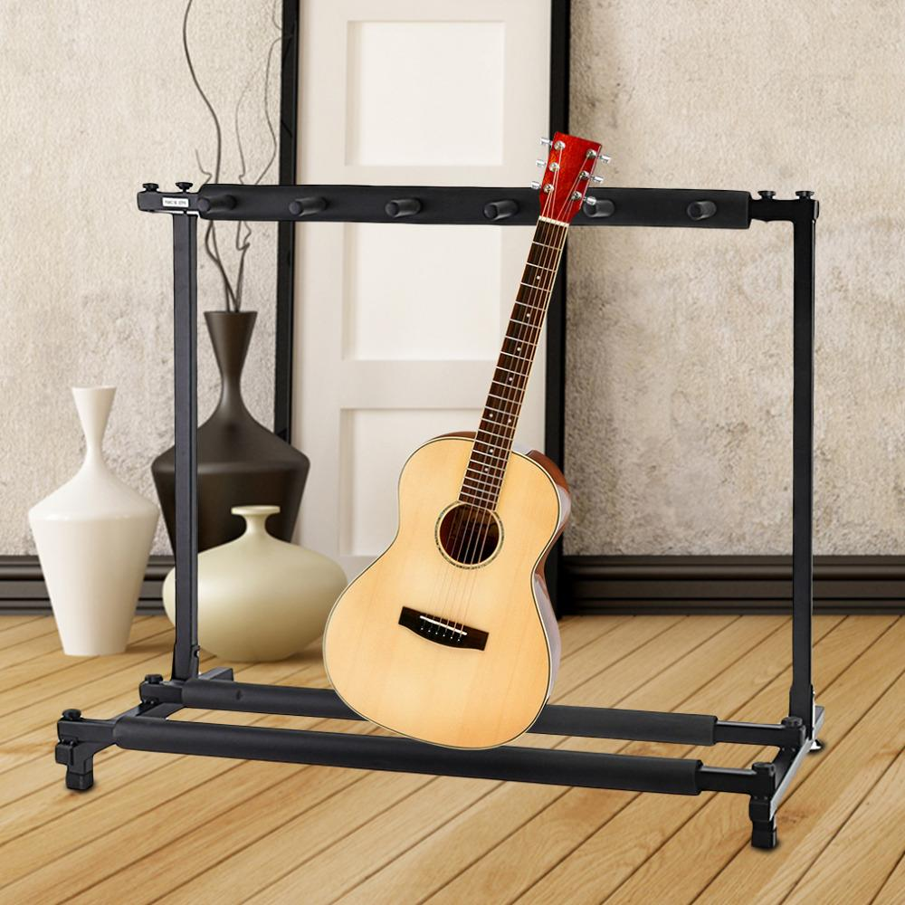 Sunfield 3, 5 and 7 Guitar Folding Stand