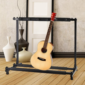 Sunfield 3, 5 and 7 Guitar Folding Stand (SOLD OUT)