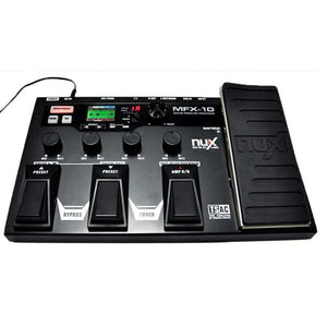 NUX MFX-10 Guitar Effect Pedal - Drum Recorder with 55 Effects