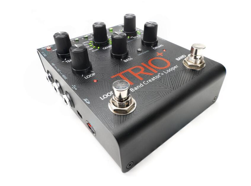 DIGITECH NEW Trio+ (Plus)  Brand Creator + Looper Guitar Effects Pedal + FS3X 3-Button Footswitch 2016 NAMM Best Pedal
