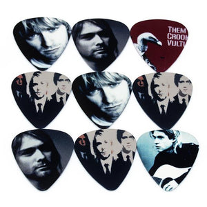 Soach 22pcs Guitar Pick Set + Black Pick Wallet