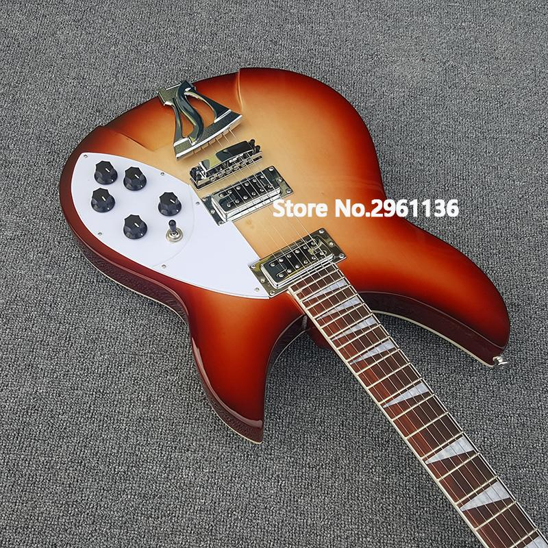 360 Ricky cherry burst electric guitar