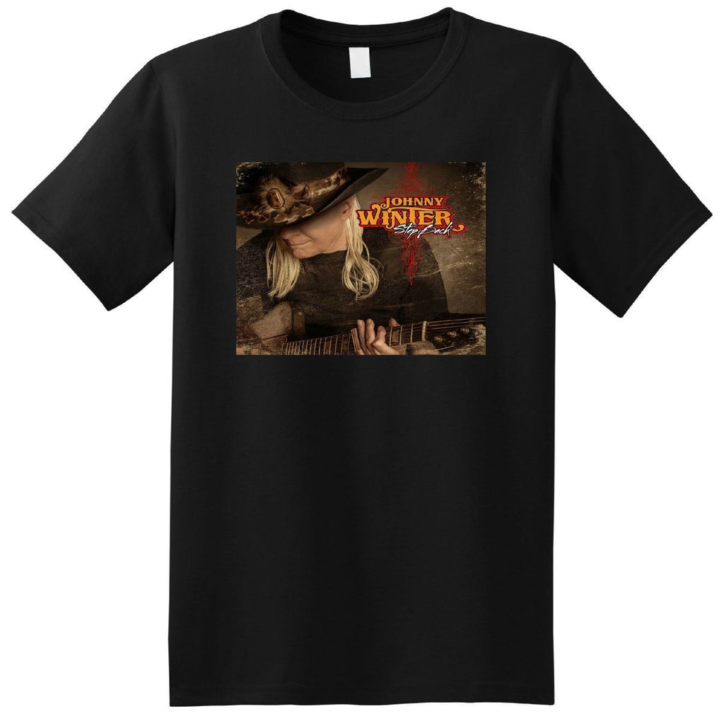 Johnny Winter T-shirt Step Back Vinyl Cover
