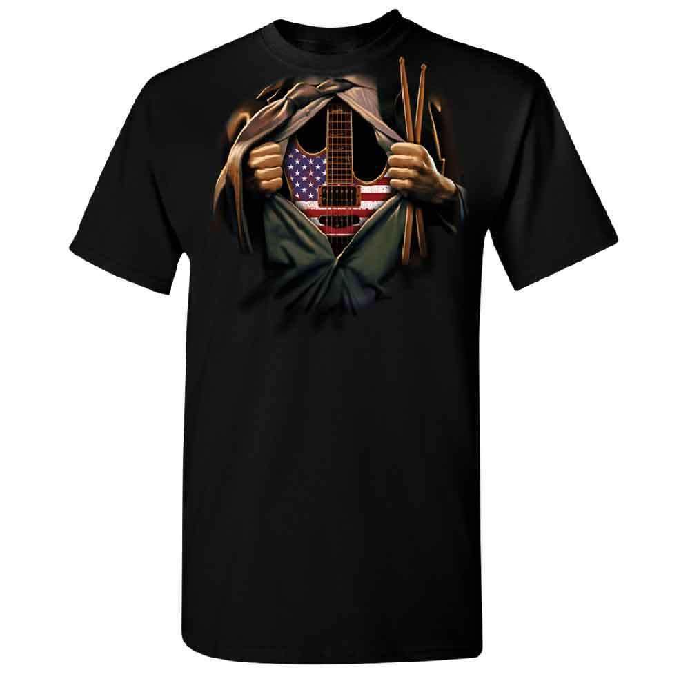 """Heart of America"" Supermusician T-shirt"