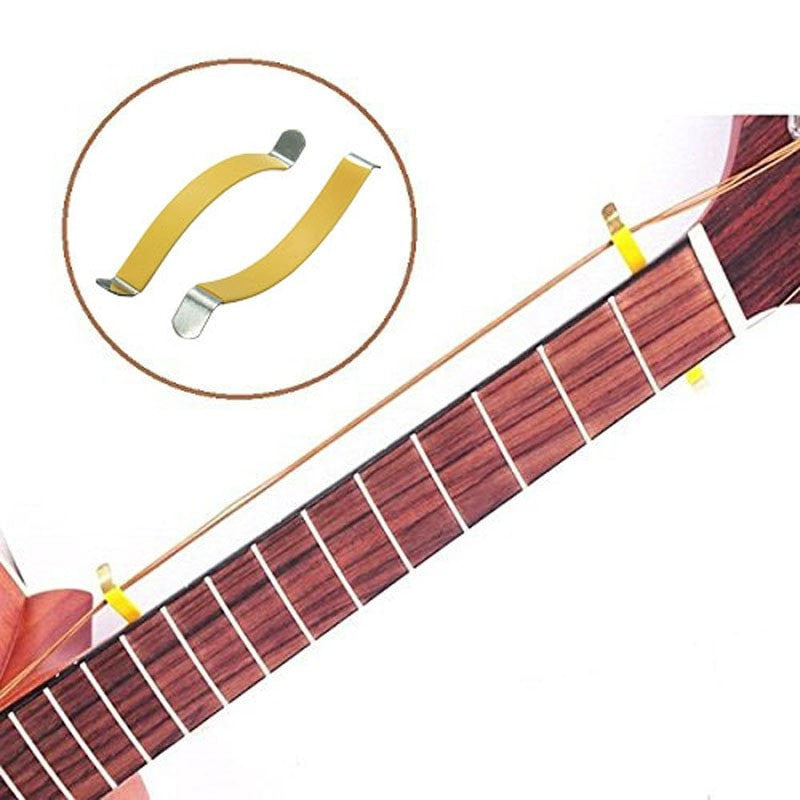 2pcs Guitar/Bass String Spreader For Fretboard Cleaning - Sunfield Music