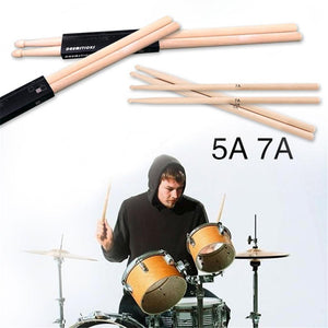 Two 5A/7A Drum Sticks