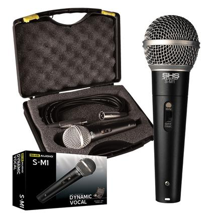Dynamic LO-Z Microphone with Case