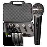 Dynamic Microphone 3 Pack