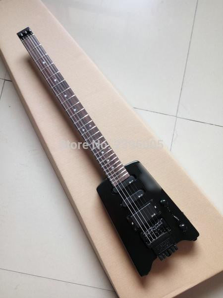 Headless Black Electric Guitar - Sunfield Music