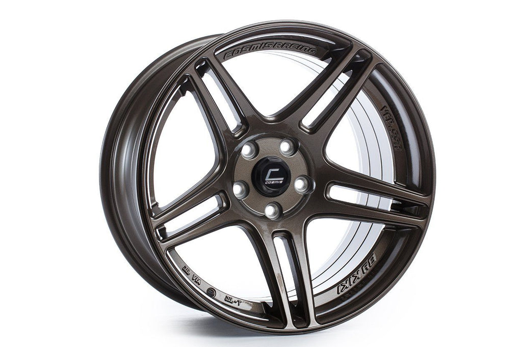 Cosmis S5R wheel. Super deep concave. Available in Machined lip, Black, Black Chrome, White, Hyper Bronze, Gunmetal, Bronze, and silver. 20in, 18in.