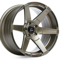 Cosmis S1 wheel. Super deep concave. Available in Machined lip, Milled spokes, Black, Black Chrome, White, Hyper Bronze, Gunmetal, Bronze, and silver. 18in.