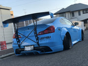 Battle Aero Infiniti G37 Coupe V3 Chassis Mount GT Wing